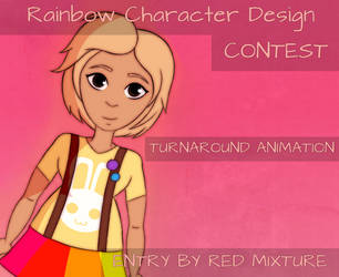 CONTEST: Rainbow Character by Red-Mixture