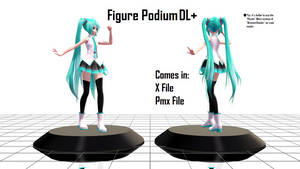 [MMD] Figure Podium DL+