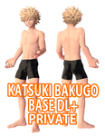 [MMD] Katsuki Bakugo Base Private DL+