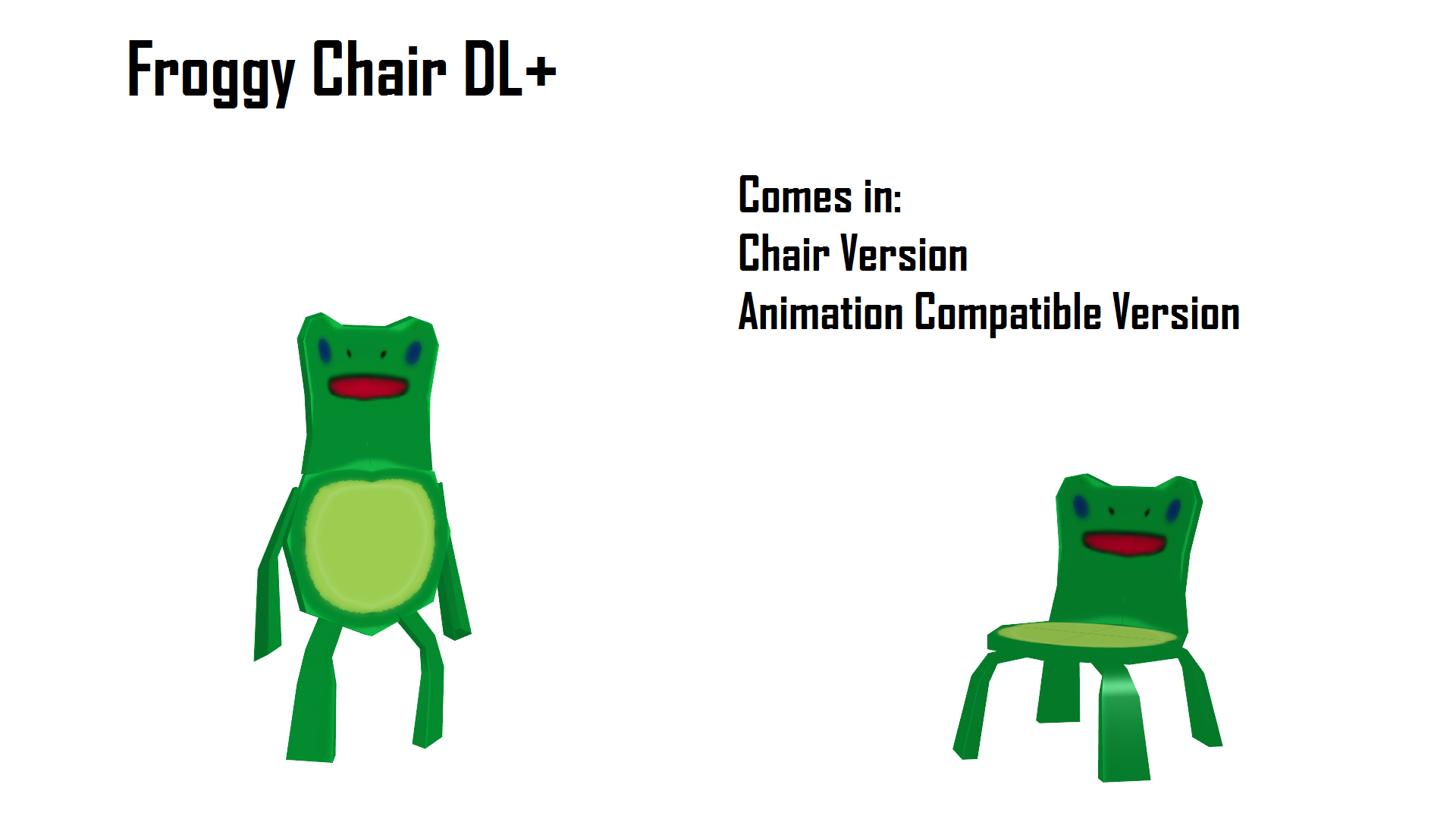 Mmd Froggy Chair Dl By Haztract On Deviantart