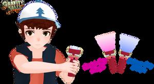 [MMD] Gravity Falls - Crystal Flashlight DL+