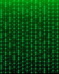 Binary Code Texture
