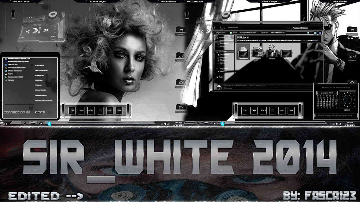 Tema SIR_WHITE 2014 By: FASCA123 by FASsCA123