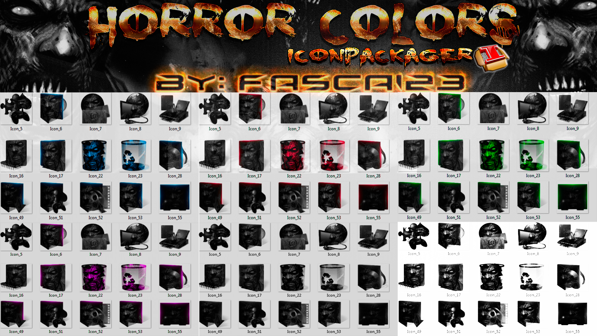 pack de skins iconpackager