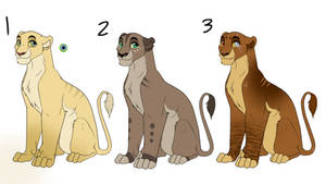 Lioness Adopts - OPEN