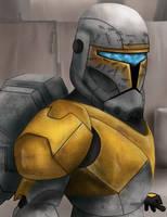 Gregor - Clone Commando by Onishark