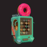 Donuts Vending Machine