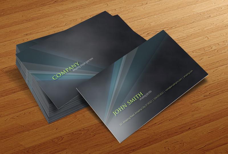 Free Business Card Psd V1 By Cursiveq Designs On Deviantart