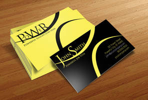 Free Business Card PSD v2 by CursiveQ-Designs