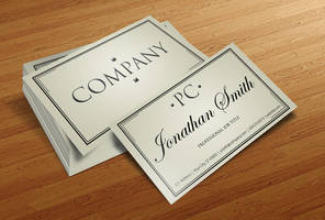 Free Business Card PSD v4 by CursiveQ-Designs