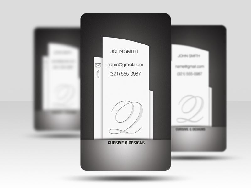 Free Business Card PSD v5