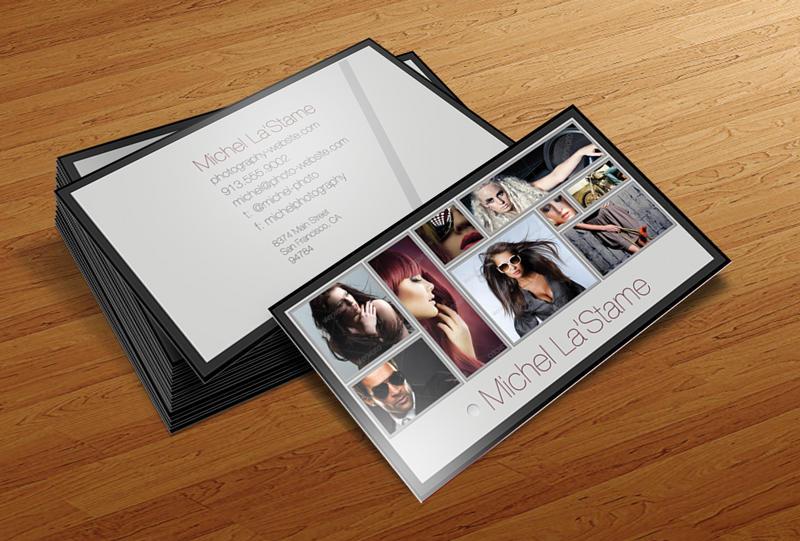 free photographer business card template v1cursiveq