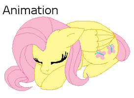 Journal Buddy - Sleeping Fluttershy by InuHoshi-to-DarkPen