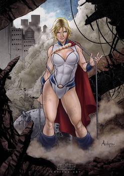 Destructive power girl by Antipus