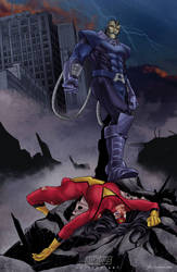 Apocalipse vs Spider Woman by Antipus