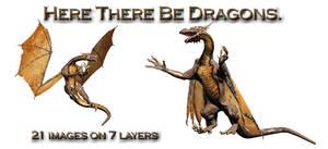 Dragons PSD