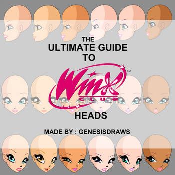 Winx Club - The Ultimate Guide to Winx Heads by Faeaurelien