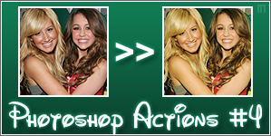 Photoshop Actions 4 by Marssie