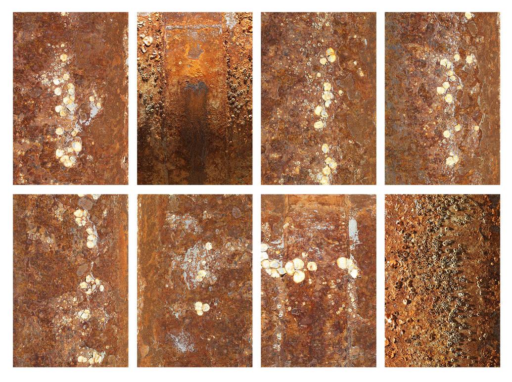 8 HR Rusty Metal Textures by Pablo-Toledo