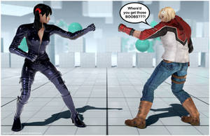 Leo is a Girl! [Tekken 7 PC mod] by Abrikatin