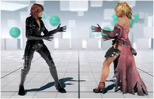 Asuka's Nina Cosplay [Tekken 7 PC mod] by Abrikatin