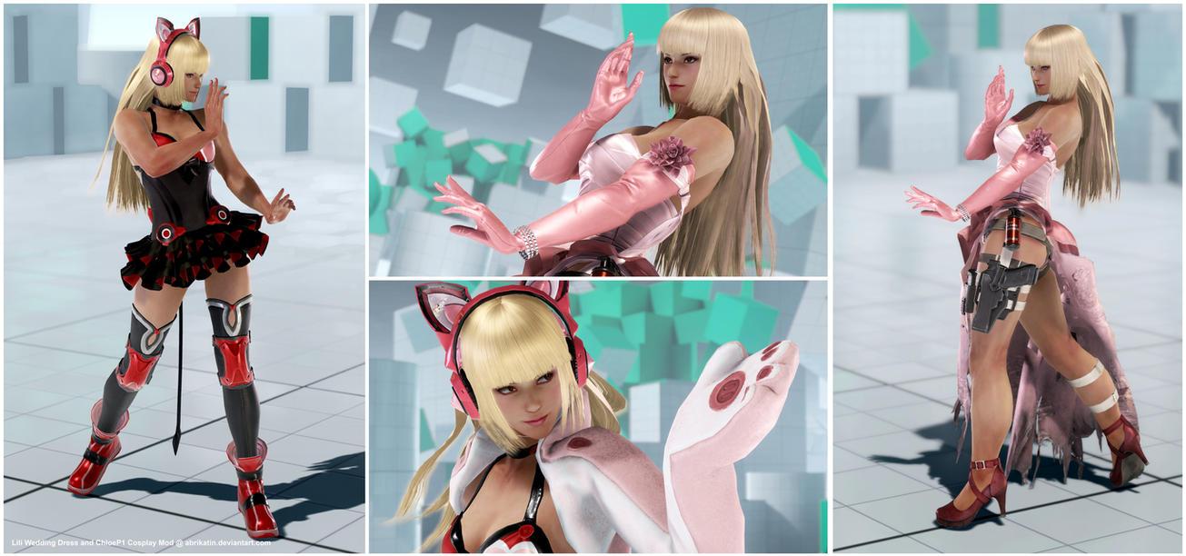 Lili Wedding Dress and Chloe1p [Tekken 7 PC Mod] by Abrikatin
