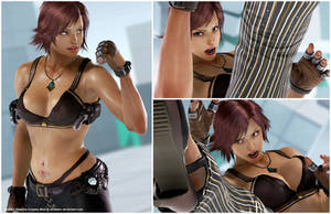 Asuka's Katarina Cosplay [Tekken 7 PC mod] by Abrikatin