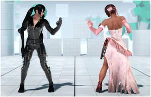 Kazumi's Nina Cosplay [Tekken 7 PC mod] by Abrikatin