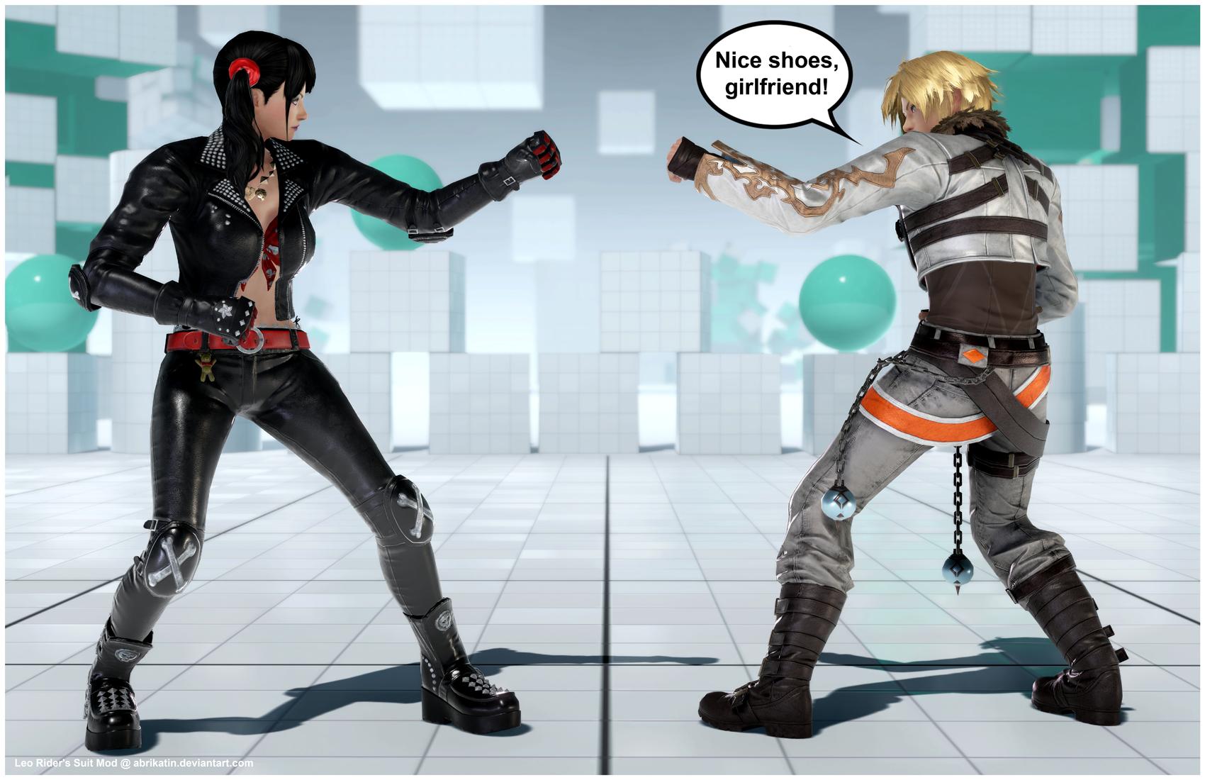 Leo Rider's Suit [Tekken 7 PC mod] by Abrikatin