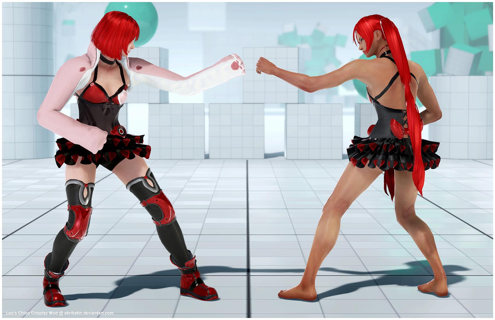 Leo's Chloe Cosplay [Tekken 7 PC mod] by Abrikatin