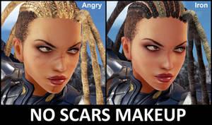 Raven No Scars Makeup [tekken 7 PC mod]