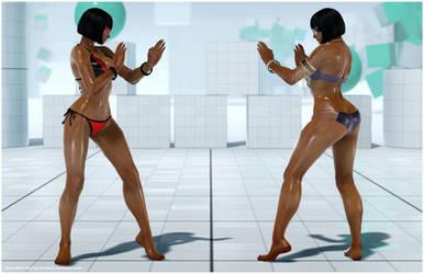Anna Bikini Mod [Tekken 7 PC mod] by Abrikatin