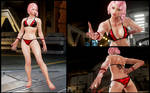 Alisa in Eliza's Bikini [Tekken 7 PC mod]