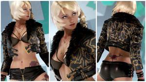 Alisa Viper Outfit [Tekken 7 PC mod] by Abrikatin