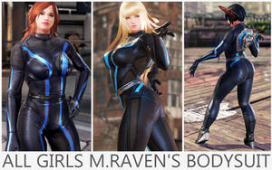 All Girls Raven's Bodysuit [Tekken 7 PC mod] by Abrikatin