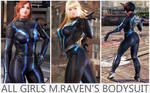 All Girls Raven's Bodysuit [Tekken 7 PC mod]