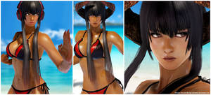 Vampire Kazumi [Tekken 7 PC mod]
