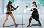Julia Anna Cosplay [Tekken 7 PC mod]