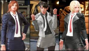 Girls Formal Suit [Tekken 7 PC mod]