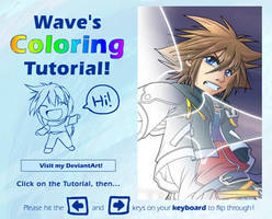 Wave's Coloring Tutorial by suzuran