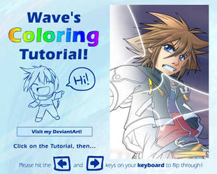 Wave's Coloring Tutorial by suzuran