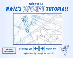 Lineart and SAI tutorial by suzuran