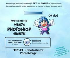 Photoshop Short 1 - Photomerge by suzuran
