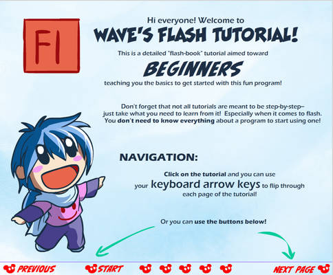 Wave's Flash for Beginners Tutorial!