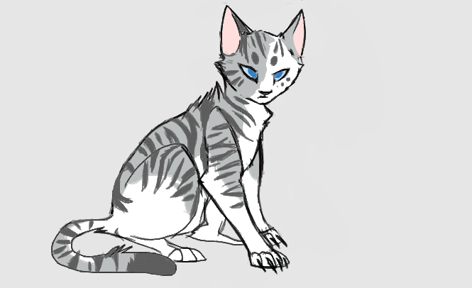 [Warrior Cats] Ivypool and Dovewing by BlazeDestroyed on ...