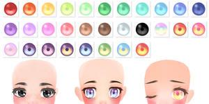 [MMD] Shimmer Eye Texture DOWNLOAD