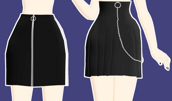 [MMD] Modern Skirt Download