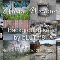 Urban Motions Backgrounds by bLuTm8