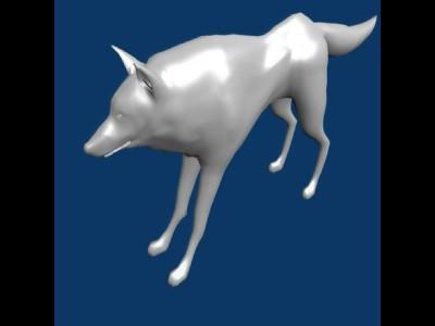 wolf in progress