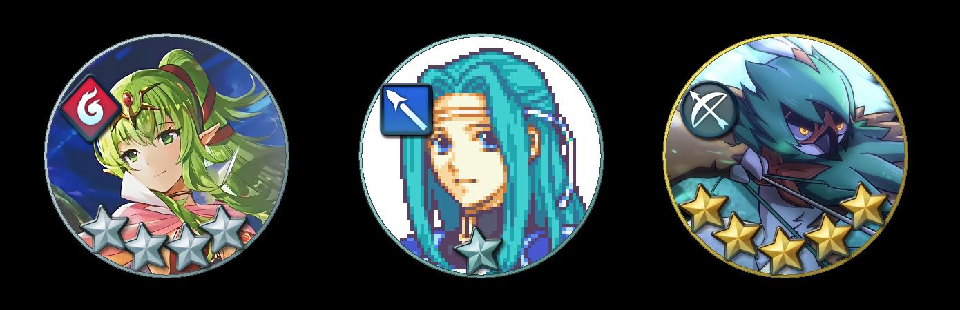 [XCF] Fire Emblem Heroes Circle Avatar Template by caliburnus
